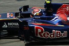 Formel 1 - Auf den Geraden langsamer: Kvyat: Sehr schwierig und intensiv