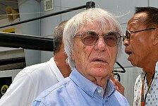 Formel 1 - Fr�he Titelentscheidung erwartet: Ecclestone gibt zu: Doppelte Punkte unfair