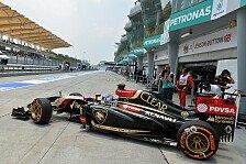 Formel 1 - Deutliche Verbesserung gegen�ber Australien?: Lotus: Kleine Schritte gegen den Frust