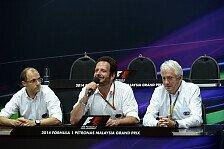 Formel 1 - Ohne Limit zu gef�hrlich: FIA: Durchfluss-Regel bleibt