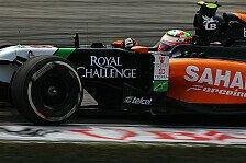 Formel 1 - Hoffentlich gute Show in Bahrain: Perez: Neue Formel 1 langweilig