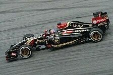 Formel 1 - Grosjean hauchd�nn an den Punkten vorbei: Lotus: Freude nach erster Zielankunft
