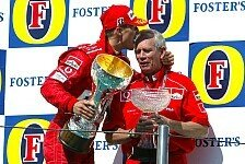 Formel 1 - Wegbegleiter erinnert sich: Rory Byrne: Besondere Gr��e an Schumacher