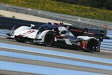 WEC - LMP1-Feld erneut ganz eng beieinander: Prolog: Audi knapp vor Porsche
