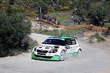 Mehr Rallyes - Durchschnittstempo von 110,91 km/h: Wiegand: Guter Auftakt bei der Rallye der G�tter