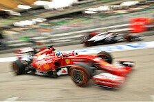 Formel 1 - Ecclestone unterst�tzt Vorsto�: Ferrari dr�ngt auf Regel�nderung