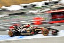Formel 1 - Wir sind nicht allein: Pastor Maldonado: E22 ist ein richtiges Rennauto