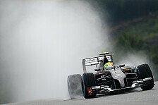 Formel 1 - Startplatz 17 nach Bottas-Strafe: Falsche Reifenwahl? Sutil geht baden