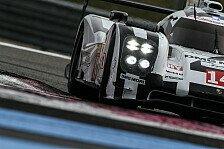 WEC - Unterwegs in der 6-Megajoule-Klasse: Porsche 919 Hybrid: 3.556 Kilometer beim Prolog