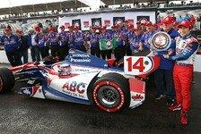 IndyCar - Montoya entt�uscht: Sato in St. Petersburg auf der Pole