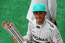 Formel 1 - Erster Sieg im achten Anlauf: Hamilton widmet Sieg den Flugungl�ck-Opfern