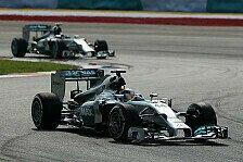 Formel 1 - Hei�er Silberpfeil: Rosberg langsamer als Hamilton: Die Gr�nde