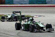 Formel 1 - Die Suche nach der Standfestigkeit: Caterham Vorschau: Bahrain GP