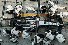 Formel 1 - McLaren gewohnt zuverl�ssig: Boxenstoppstatistik: Hohe Leistungsdichte in Monza