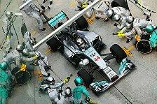 Formel 1 - Nicht mehr als drei Stopps: Pirelli erwartet keine Boxenstopporgie