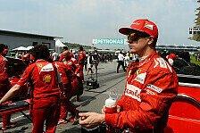 Formel 1 - Ich will mehr Rad-an-Rad-K�mpfe: R�ikk�nen will spannendere Formel 1