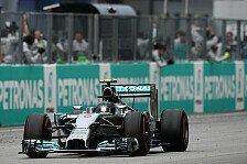 Formel 1 - Dominante Mercedes-Vorstellung: Malaysia GP: Team f�r Team