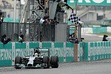 Formel 1 - Mercedes unschlagbar: Malaysia GP: Die Fahreranalyse