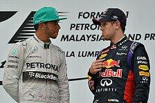 Formel 1 - Keine Sorge um das eigene Cockpit: Vettel-Ger�chte lassen Hamilton kalt