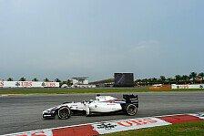Formel 1 - Mercedes-Power auch in Malaysia vorn: Topspeeds in Sepang: Massa Schnellster