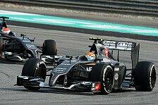 Formel 1 - Hoffnung auf Fortschritte: Sauber Vorschau: Bahrain GP