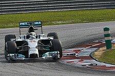 Formel 1 - Folgt der dritte Streich?: Mercedes Vorschau: Bahrain GP