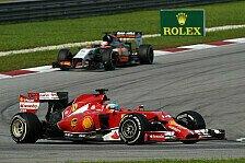Formel 1 - Teamorder bei Williams?: Strategiebericht: Malaysia GP