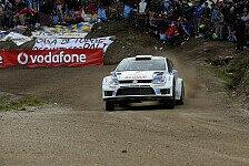 WRC - 3 - 2 - 1 - Volkswagen: Portugal: Ogier gewinnt erste Pr�fung