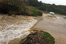 WRC - Wassermassen auf den Pr�fungen: Regen in Portugal sorgt f�r Verschiebungen