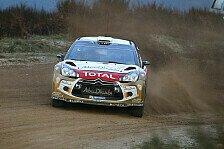 WRC - Eine v�llig andere Theorie: �stberg passt Fahrstil an Citroen DS3 WRC an