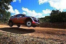 WRC - Hyundai mit drei Boliden in Polen