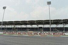 Formel 1 - Bilderserie: Reaktionen zu Schumachers Erholung