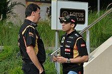 Formel 1 - Harter Start in die Saison: Federico Gastaldi: Maldonado hat es schwer