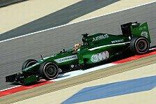 Formel 1 - Coole Premiere: Frijns: Schneller als Ericsson - lahmer als GP2