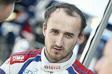WRC - Das Ziel stets vor Augen: Kubica: Rallyefahren befriedigt mich
