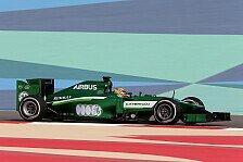 Formel 1 - Gro�er Grip-Unterschied: Robin Frijns: Ich habe es genossen