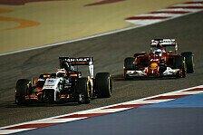 Formel 1 - In drei von vier Rennen geschlagen: H�lkenberg: Harter Kampf mit Alonso