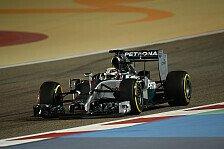 Formel 1 - Zwei Mal an der Spitze: Hamilton happy: Silberpfeil f�hlt sich gut an