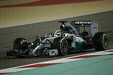 Formel 1 - Konkurrenz mit deutlichem R�ckstand: Longrun-Analyse: Mercedes dominiert
