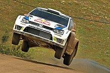 WRC - Hirvonen gibt sich geschlagen: Portugal: Ogier zieht davon