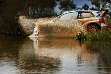 WRC - T�nak blockiert die Strecke: Ogier und Hirvonen: Duell um Portugal-Spitze