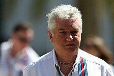 Formel 1 - Williams befürchtet Reifennachteil für 2017