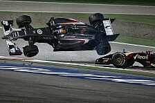 Formel 1 - Gegenseitige Schuldzuweisungen: Gutierrez-Salto: Wer war schuld am Horror-Crash?