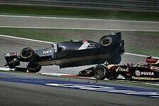 Formel 1 - Strafe hoch drei: Maldonado nach Horror-Unfall: Doppelte Strafe