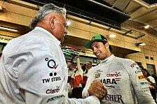 Formel 1 - Sensationelle Leistung meiner Piloten: Vijay Mallya: M�ssen stark auf allen Strecken sein