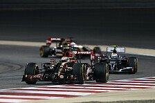 Formel 1 - Kapitaler Aussetzer von Maldonado: Lotus am Ziel - mit beiden Autos