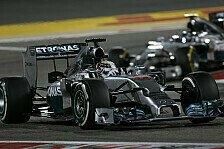 Formel 1 - Bilder: Bahrain GP - Spektakul�re Duelle