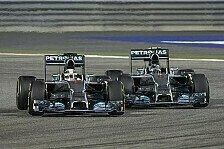 Formel 1 Bahrain 2014: Stallduell Hamilton vs. Rosberg beginnt