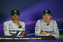 Formel 1 - Mercedes ab jetzt mit Psychologe: Rosberg und Hamilton auf der Couch
