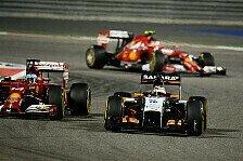 Formel 1 - Die gro�en Teams haben mehr Budget: H�lkenberg: Force India entwickelt am Limit